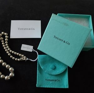 925 Silver Tiffany & Co. Graduated Ball Necklace